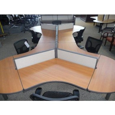 office space planning boomerang plan. unique planning this sixperson dogbone cubicle is composed of herman miller degree pods  with boomerang work surfaces tall x wide divider panels and additional  for office space planning boomerang plan