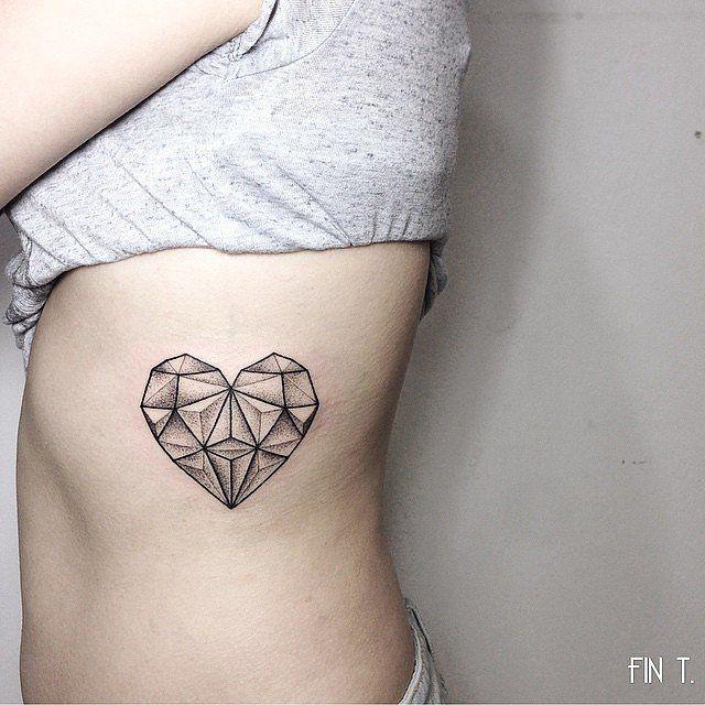 48 idées de tatouages coeur tellement mignons que vous voudrez les mêmes | #6