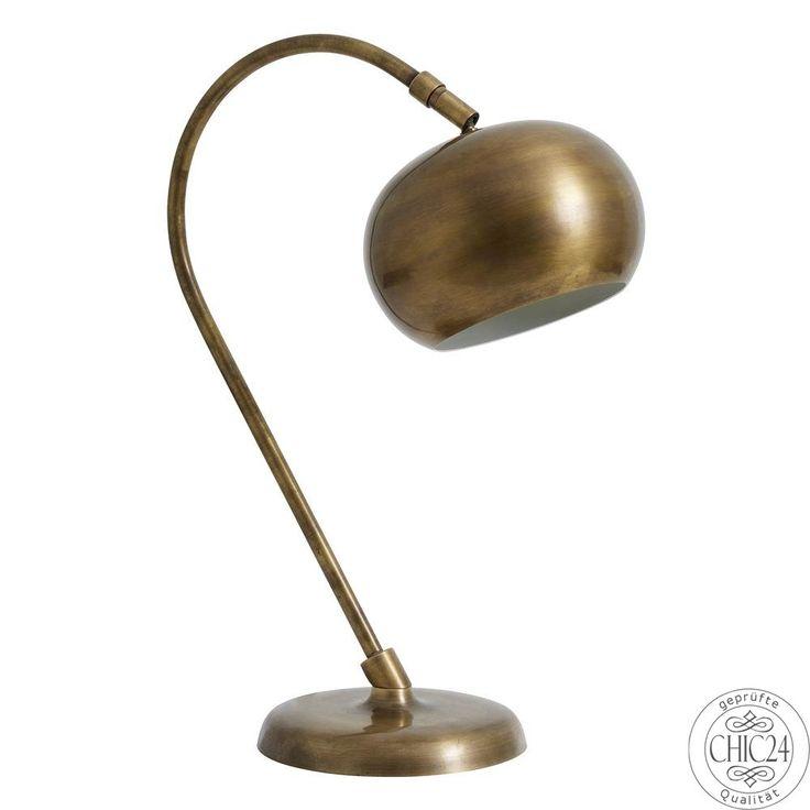 Tischlampe Globe in mattem Messing von Nordal - chic24 - Vintage Möbel und Industriedesign Lampen Online kaufen, € 199,90