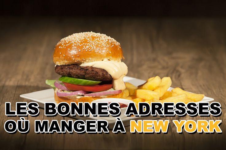 OÙ MANGER À NEW YORK - LES BONNES ADRESSES  Pour mon dernier voyage de l'année 2016, je suis partie visiter New York, un rêve réalisé durant les périodes de Noël et donc je vous partage toutes les bonnes adresses où manger à New York que j'ai pu tester.  #blogvoyage #newyork #voyage