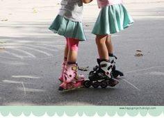 DIY express: falda circular en media hora ;)