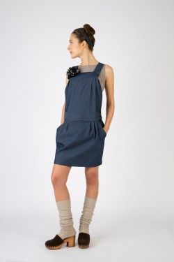 art. 502 dress cobalto www.lospaventapasseri.it