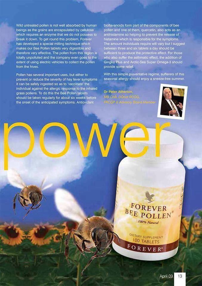 The power of bee pollen