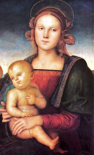 Pietro Perugino (1446–1524), Madonna and Child 1497