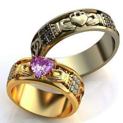 Обручальные кольца для жениха и невесты
