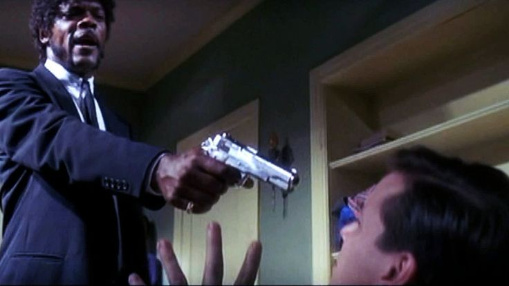 PULP FICTION Say What Again I Dare You  HD