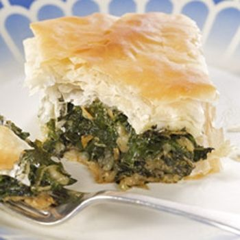 Spanakopita: Greek Spinach Pie | Pastries | Pinterest