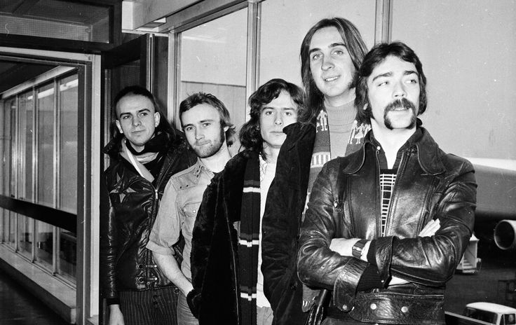 Peter Gabriel, Phil Collins, Tony Banks, Mike Rutherford, Steve Hackett - Genesis