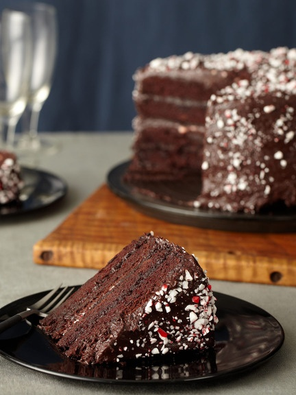 Cranberry Island Kitchen - Chocolate Peppermint Cake