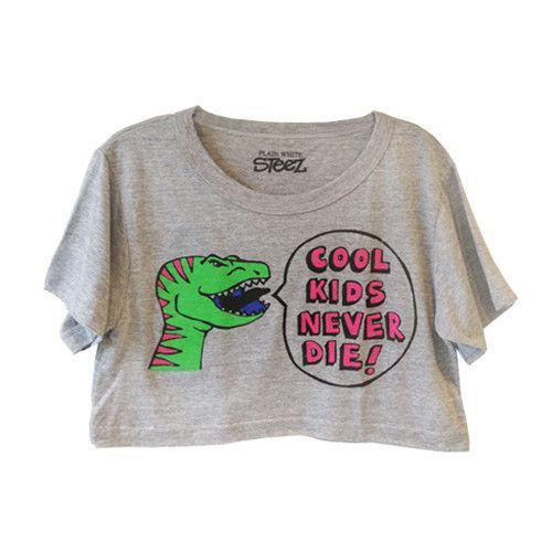 Cool Kids Crop Top. Shop the #NYLONshop shop.nylonmag.com