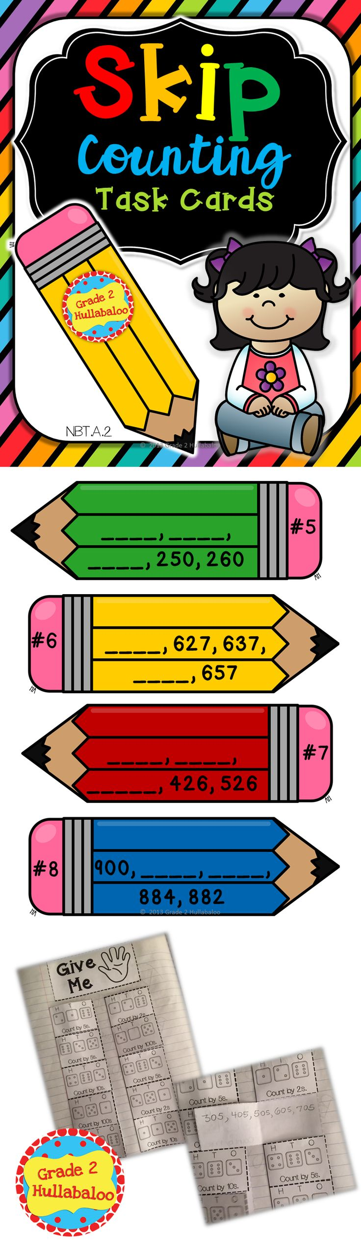Worksheet Skip Counting Games Online 1000 ideas about skip counting games on pinterest included 28 colorful pencil task cards directions for partner game recording