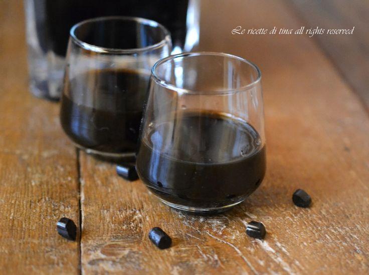 Liquore alla liquirizia bimby,un digestivo semplice e veloce