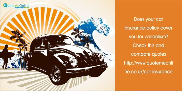Does your #carinsurance policy cover you for vandalism? Check this and compare quotes #quotemeonlineuk http://bit.ly/1nnTOde