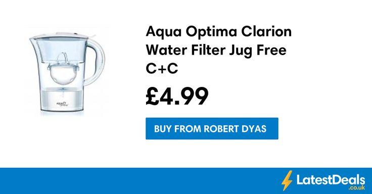 Aqua Optima Clarion Water Filter Jug Free C+C, £4.99 at Robert Dyas