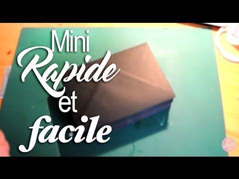 Tuto Mini Album RAPIDE avec Enveloppes !! 1/2 - YouTube