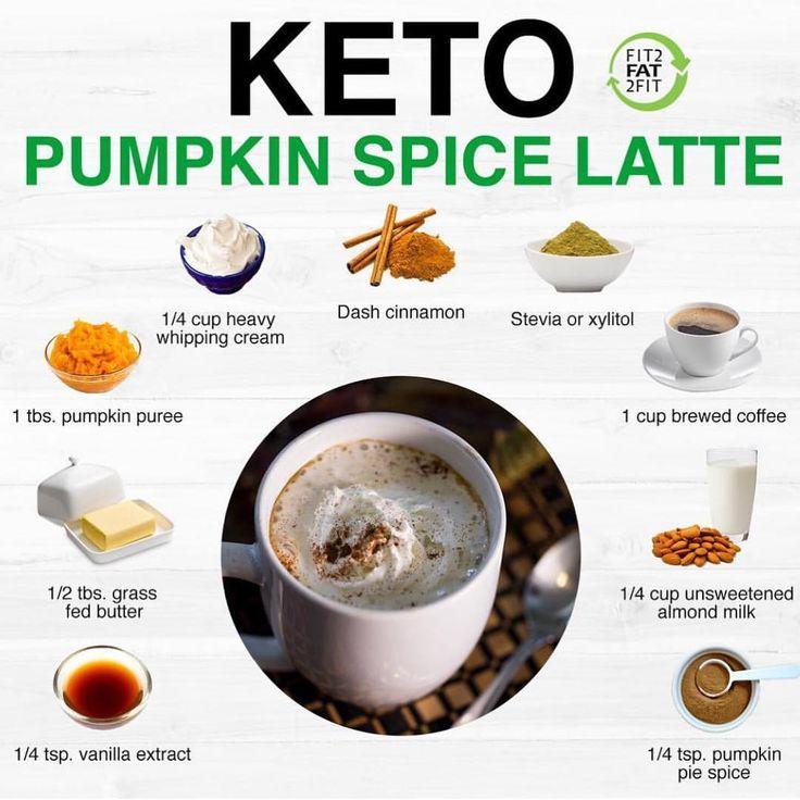 Keto Pumpkin Spice Latte Anyone?!?! ☕️🍂