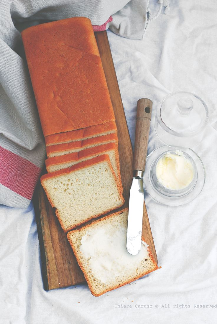... homemade sliced bread (vegan) ...