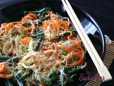 SaraVeg: Spaghetti di riso - Vegan