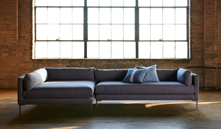 There is no better sofa for napping - the Sydney sectional.