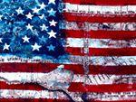 """Bandera de Estados Unidos """"Barras y Estrellas"""""""