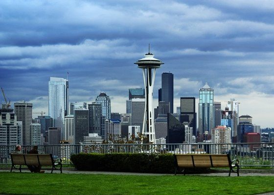 Kerry Park - Need that perfect shot of the Space Needle? Take the monorail over to the Seattle Center and then head halfway up Queen Anne Hill to Kerry Park for incredible city views. (It is a bit of a walk. Take a cab if you're not up for the challenge.)