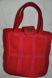 Vintage Red Lulu Guiness