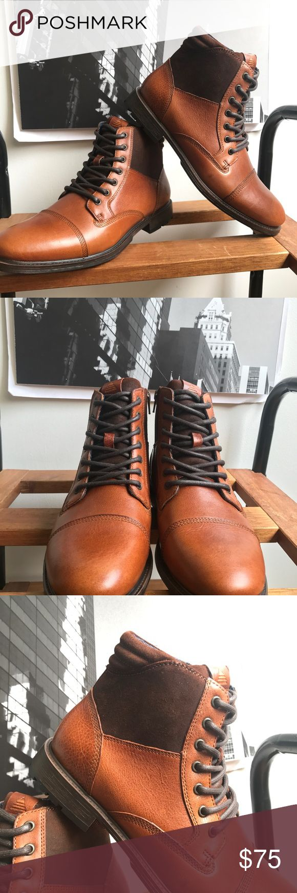 🙌🏾Brand New Aldo Boots #0201AO Brand new Aldo brown with leather accent details lace up ankle boot.Notice the zipper on one side of  ye Boot with the denim accent on the interior. NO TRADES. NO LOWBALL OFFERS, Thank you! #boot #aldo #men #mensstyle #style #streetwear #boot #size9 #size42 #fallfashion #winterfashion #winter #fall #brownboot #brown #brandnew #aldoboot Aldo Shoes Boots