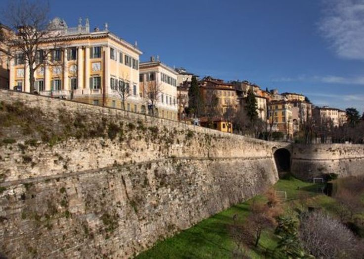 BERGAMO - Città Alta, mura