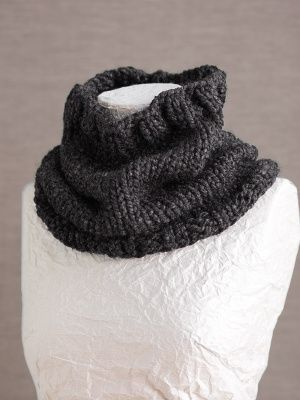 Free Knitting Pattern: Basic Cowl