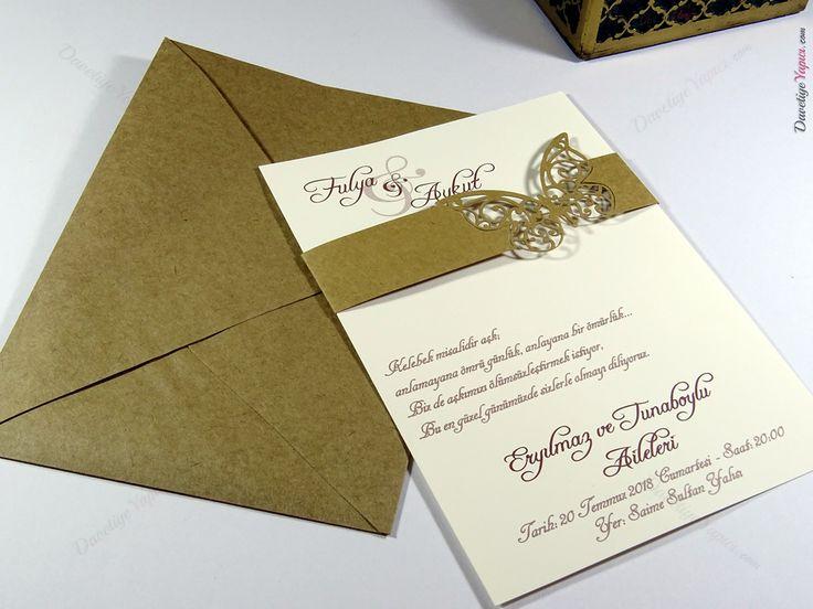 İklim 10416 davetiye düğün wedding invitation
