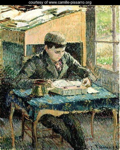 The Artist's Son, 1893 - Camille Pissarro - www.camille-pissarro.org