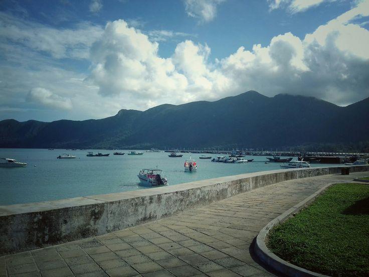 Con Dao island in a sunny day