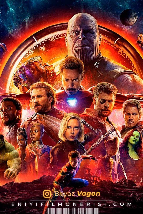 Avengers Infinity War 2018 2021 Film Posteri The Avengers Film