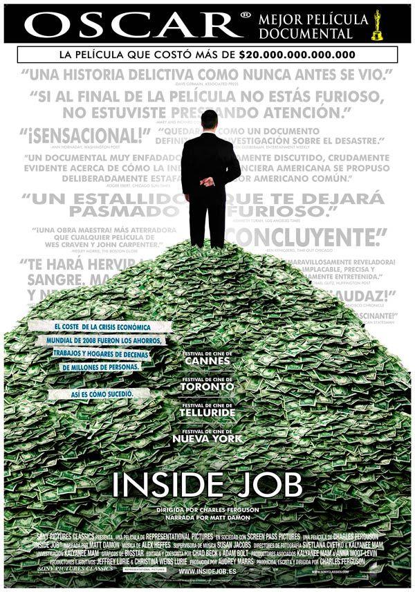 Una película dirigida por Charles Ferguson con Christine Lagarde, Dominique…