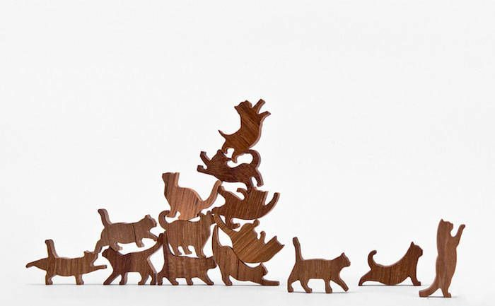 This Cat Jenga Game is the Most Adorable Family Game I've Ever Seen - CatLove.co