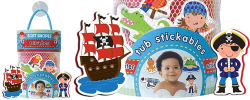 Tub Stickables - Pirate - UrbanBaby