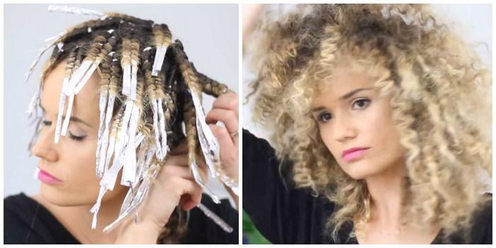 Heb je altijd een dikke bos krullen of een curly afro willen hebben? Met aluminium folie en een stijltang heb je dat zo voor elkaar!