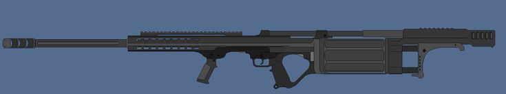 Requested by: MoonlitCrescent The Rotary Slug Rifle is a 30mm weapon which can use a multitude of munition types and load various types in one cylinder. It uses a gas operated system to automatical...