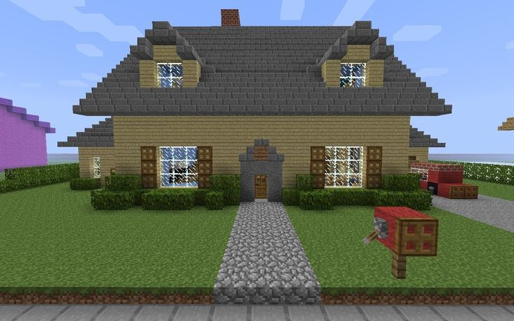 Minecraft house step by step wallpaper minecraft house hd for Minecraft building plans step by step