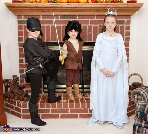 The Princess Bride This is what i want to do for Halloween ! It would be So cute !!