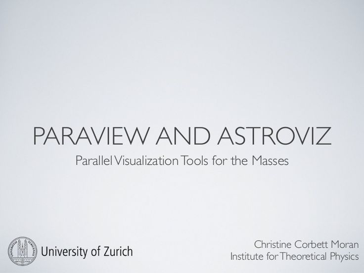 Big Data Visualization With ParaView #smallbizIT #smallbizBI learned about this from #osk2k15 thank you