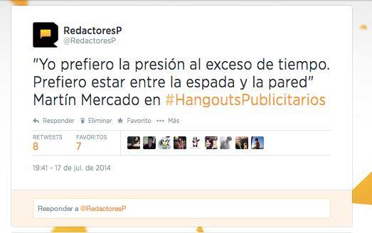 #HangoutsPublicitarios