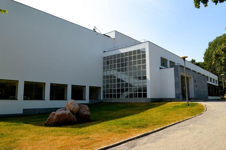 Alvar Aalto Library/ Vyborg/ Библиотека Алвара Аалто/ Выборг/ 1933-35/ Photo: Practicum Tours