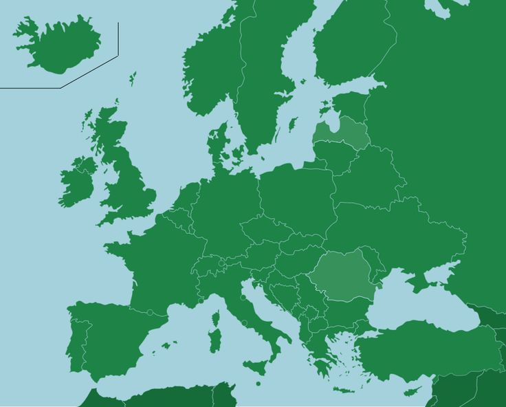 Europe: Countries - Map Quiz Game: Do you have an upcoming geography quiz on Europe but can't tell Austria apart from Hungary on a map? This map quiz game has got you covered. From Iceland to Turkey and everything in between, this geography study aid will get you up to speed in no time, while also being fun.<br>