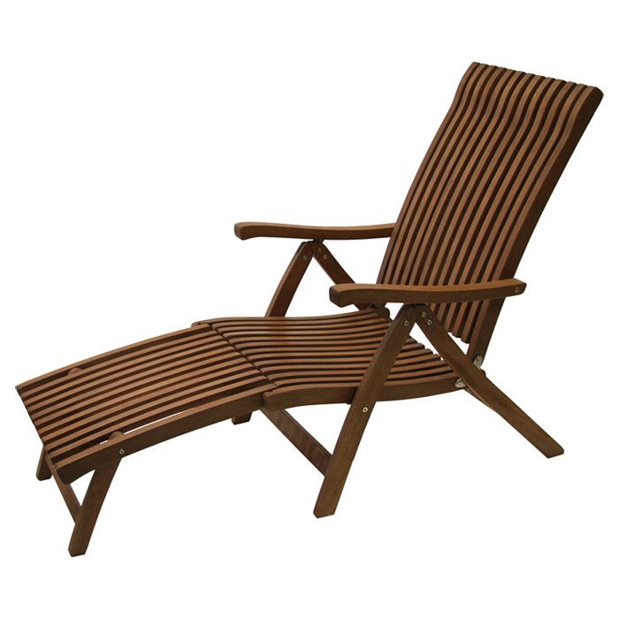 $187 Valerion Indoor/Outdoor Chaise - Change of Scenery on Joss & Main