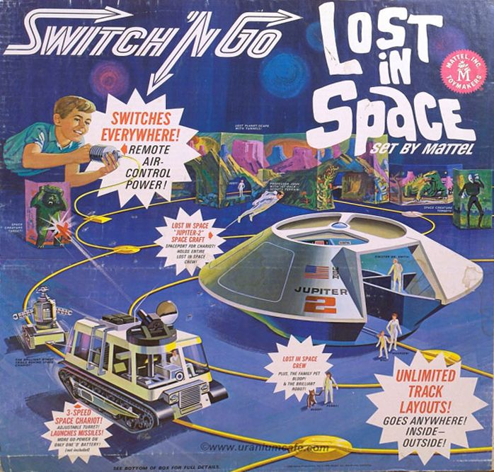 Switch It Up Toys : Box for mattel s 'lost in space switch 'n go play set
