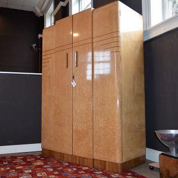 Hu0026L Epstein Birds Eye Maple Large Wardrobe · Large WardrobesBuilt In  WardrobeHouse DesignArt DecoBedroom ...