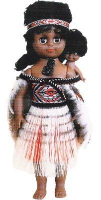 Wahine Maori Doll 4 - 27cm   Shop New Zealand