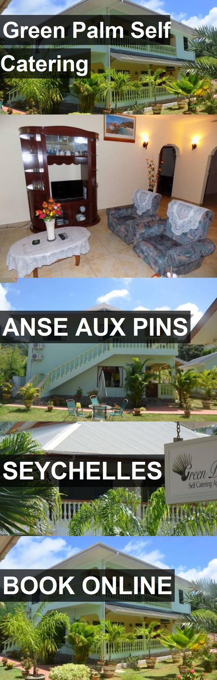 Hotel Green Palm Self Catering in Anse aux Pins, Seychelles. For more information, photos, reviews and best prices please follow the link. #Seychelles #AnseauxPins #GreenPalmSelfCatering #hotel #travel #vacation