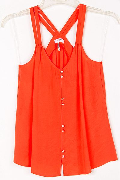 Casual Haley Top in Persimmon